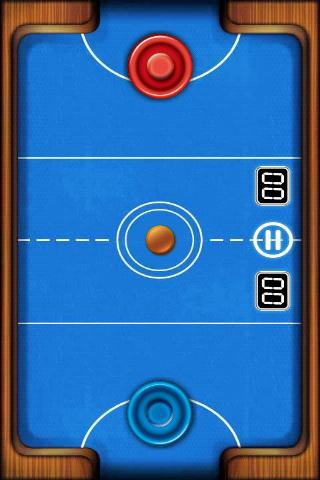 Air Hockey Deluxe- screenshot