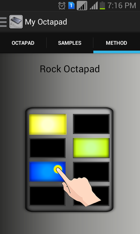 My OctaPad- screenshot