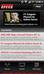 The Official SPEED Channel App- screenshot thumbnail