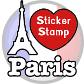 Paris Sticker Photo : France