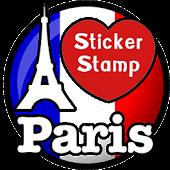 Paris Sticker Photo : France