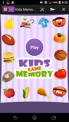 Brain Booster Kids Memory Game