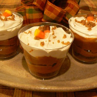 Spiced Pumpkin Butterscotch Mini Trifle