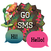 PeacockFairy/GO SMS THEME
