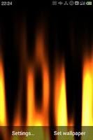 Screenshot of Fire Live Wallpaper