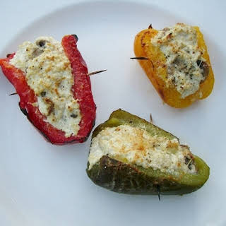 Stuffed Peppers With Mushrooms And Cheese Recipes.