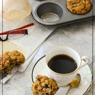 Gluten Free Pumpkin Coconut Chocolate Muffins