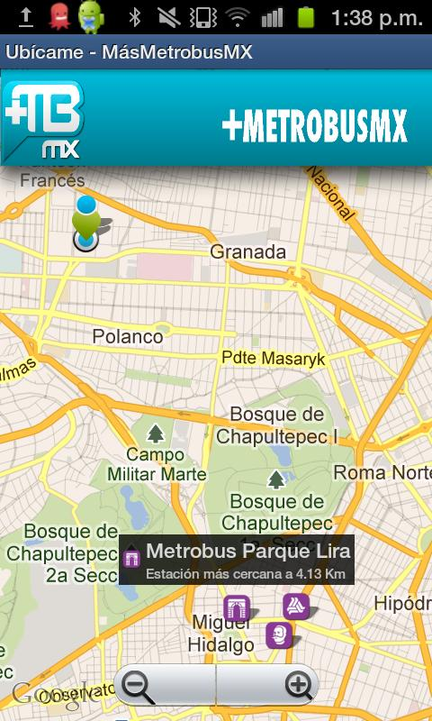 Metrobus MX- screenshot