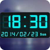 LED Digital Clock Widget
