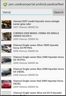 Used Car Fleet - Search Cars- screenshot thumbnail