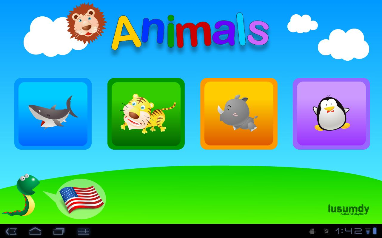 Animals for Tablets - screenshot