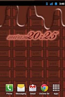 Screenshot of Wallpaper of chocolate FREE