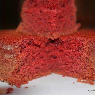Red Velvet Cake (Eggless).