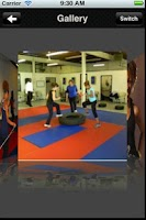 Screenshot of Blue Life Karate