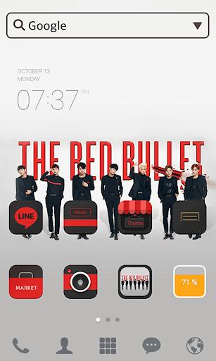 BTS_Bullet LINE Launcher theme