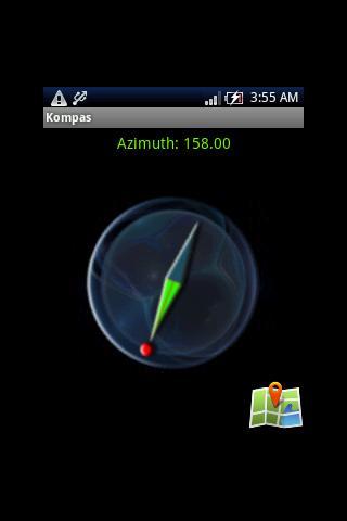 Kompas - Compass and Location- screenshot