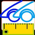 Compare Cars Dimensions Pro icon