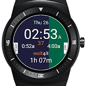Wait4it Android Wear Watchface