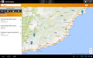 Screenshot of Liguria – Sleeping and Eating