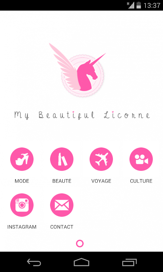 Beautiful Licorne- screenshot