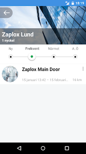 Zaplox Mobile Keys- screenshot thumbnail