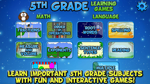 Fifth Grade Learning Games SE