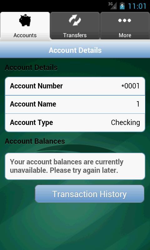 Chessie FCU Mobile Banking - screenshot