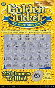 Gold Ticket Lotto Scratch Off - screenshot thumbnail