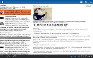 Screenshot of Ilkka