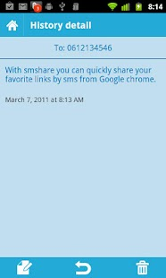 smshare - Send sms from Chrome - screenshot thumbnail