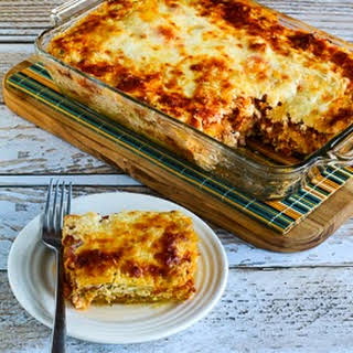 Low-Carb Mock Lasagna Spaghetti Squash Casserole (Gluten-Free).