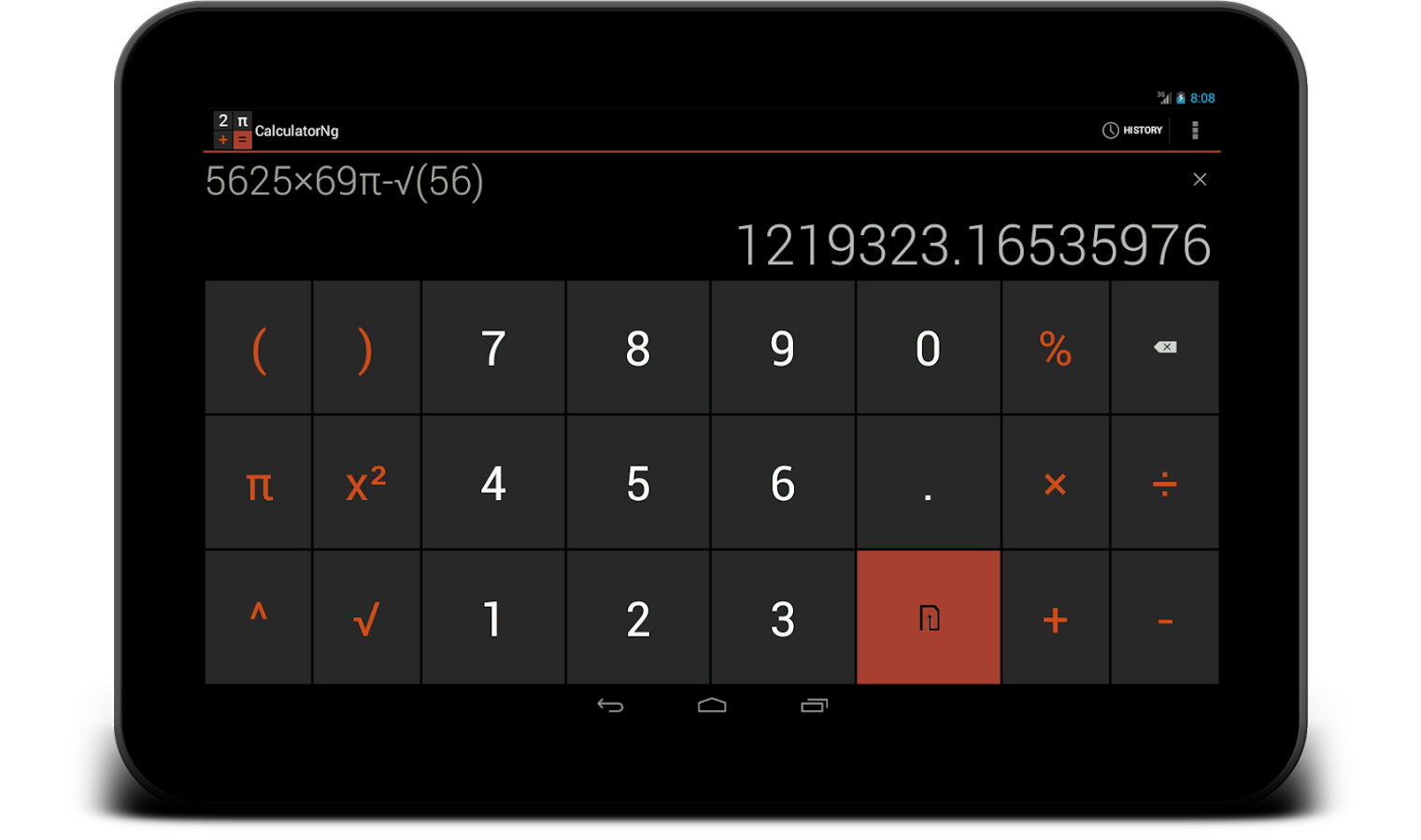 CalculatorNg - Calculator - screenshot