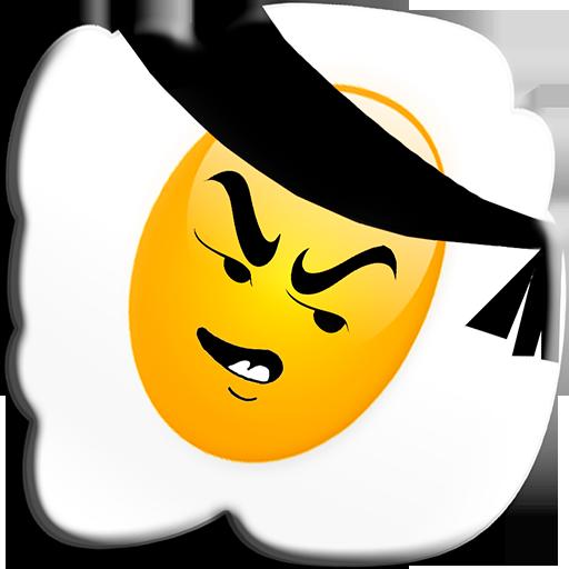 ANGRY NINJA - The egg jumper LOGO-APP點子