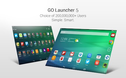 GO Launcher EX-Xmas Wallpaper Screenshot 1