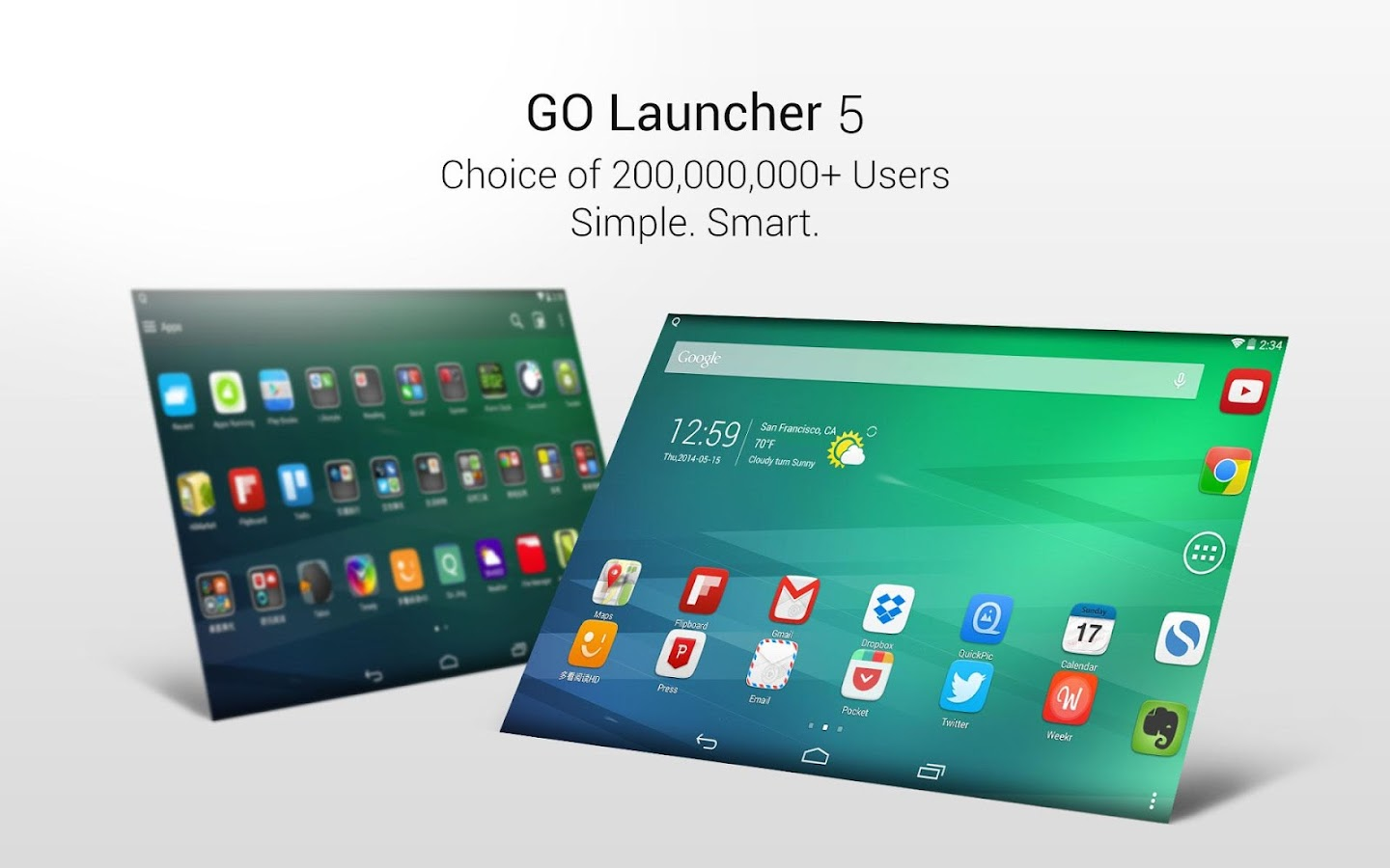GO launcher EX (Deutsch) - screenshot