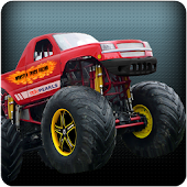 3D Monster Truck Racing