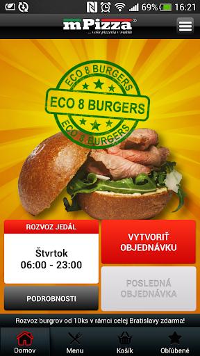 ECO 8 BURGERS Bratislava