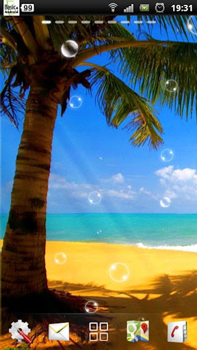 住海滩壁纸免费