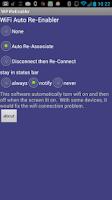 Screenshot of WiFi Auto ReEnabler