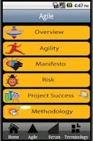 Screenshot of Agile Scrum Project CheatSheet