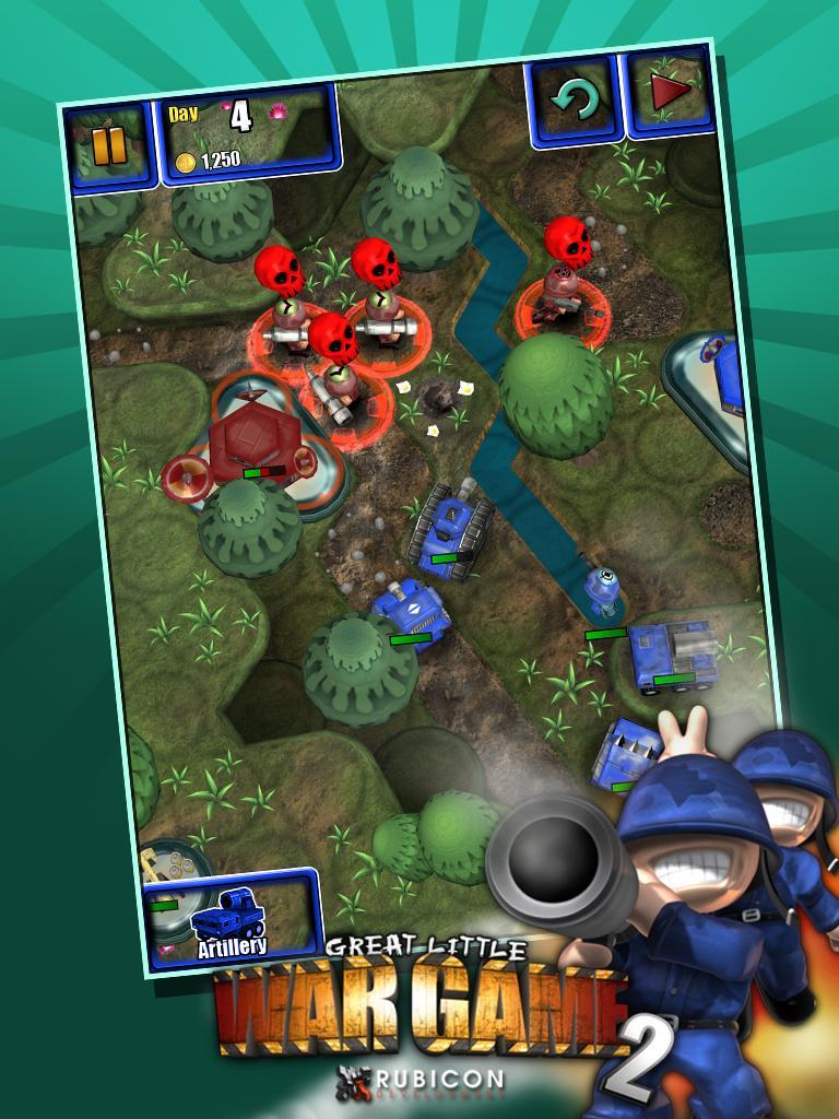 Great Little War Game 2 screenshot #2