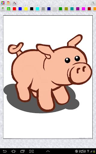 無料休闲Appの家畜のカラーリング|記事Game