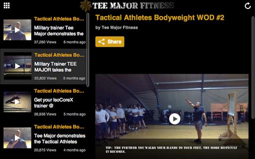 玩健康App|Tee Major Fitness免費|APP試玩