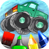 Cars Painting Book 4 Kids