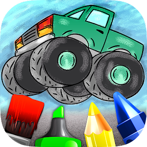 Cars Colouring Book for Kids for PC and MAC
