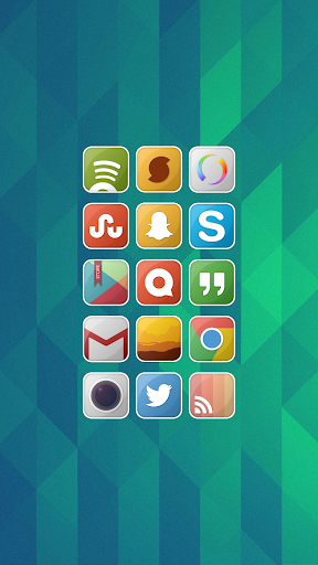 Friek Square Icon Pack
