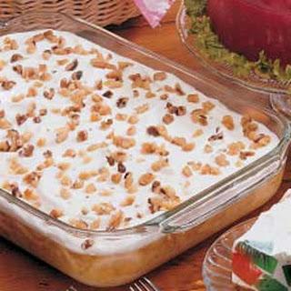 Creamy Gelatin Dessert.