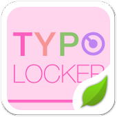 Typo Pink2 GO Locker Theme