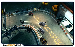 Mini Motor Racing Xperia screenshot for Android
