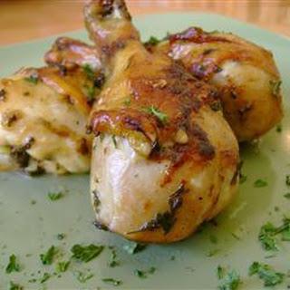 Grilled Garlic Chicken.